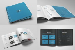 Corporate brand guideline for 6PM Group Malta