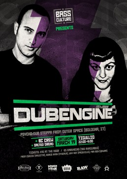 Bass Culture featuring Dub Engine at Tigullio