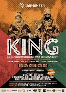Iremember reggae event, the King in Toronto Canada