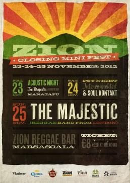 Zion closing minifest poster design