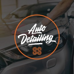 88 Automotive sub brand 88 Auto Detailing logo design