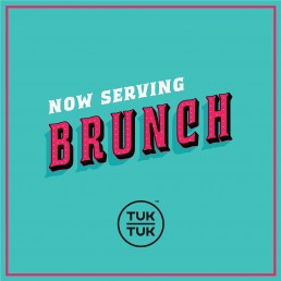 Design of advert for Bruch for Tuktuk Malta