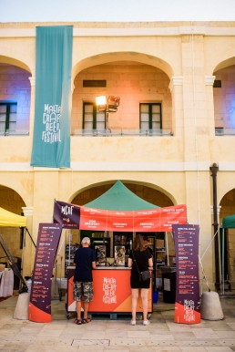 Signage design for Malta Craft Beer Festival 2018
