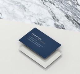 Proofreading Malta business card design