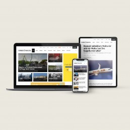 Website design for Times of Malta