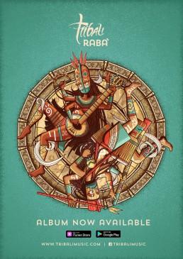 Poster design for Tribali album