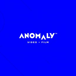 Logo design for Anomaly video and film production company