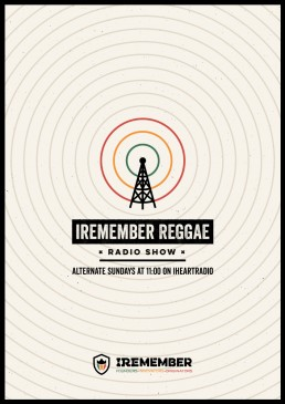 Poster design for Iremember reggae party in Canada