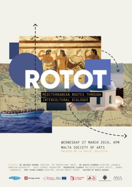 Poster design for Rotot event by Inizjamed