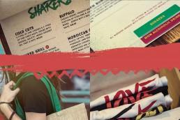 Zion menu plus merchandise