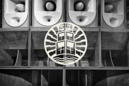 Island Rockers logo design on sound system photo