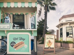 Mdina Kiosk exterior shots of hotdog stand and kiosk