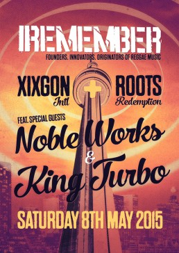 Iremember reggae event, Noble Works and King Turbo Toronto Canada