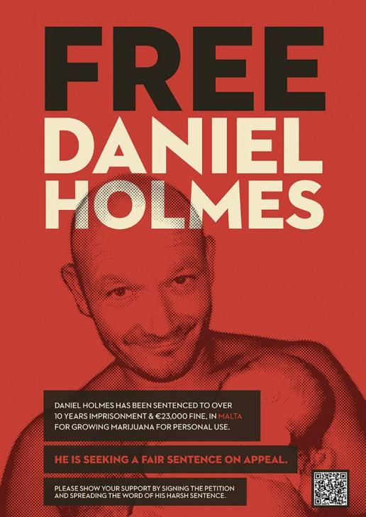 Free Daniel Holmes Poster design