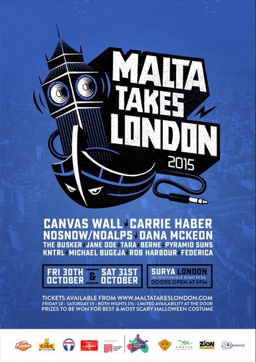 Malta takes London poster design