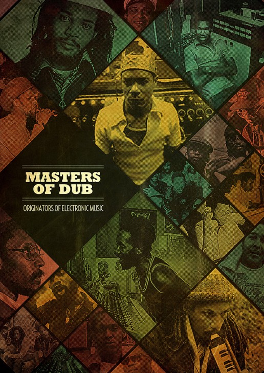 Masters of Dub poster edition for the International Reggae Poster Contest.