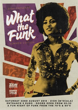 What the Funk poster design