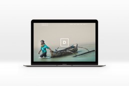 Dragana Rankovic website design on mac book