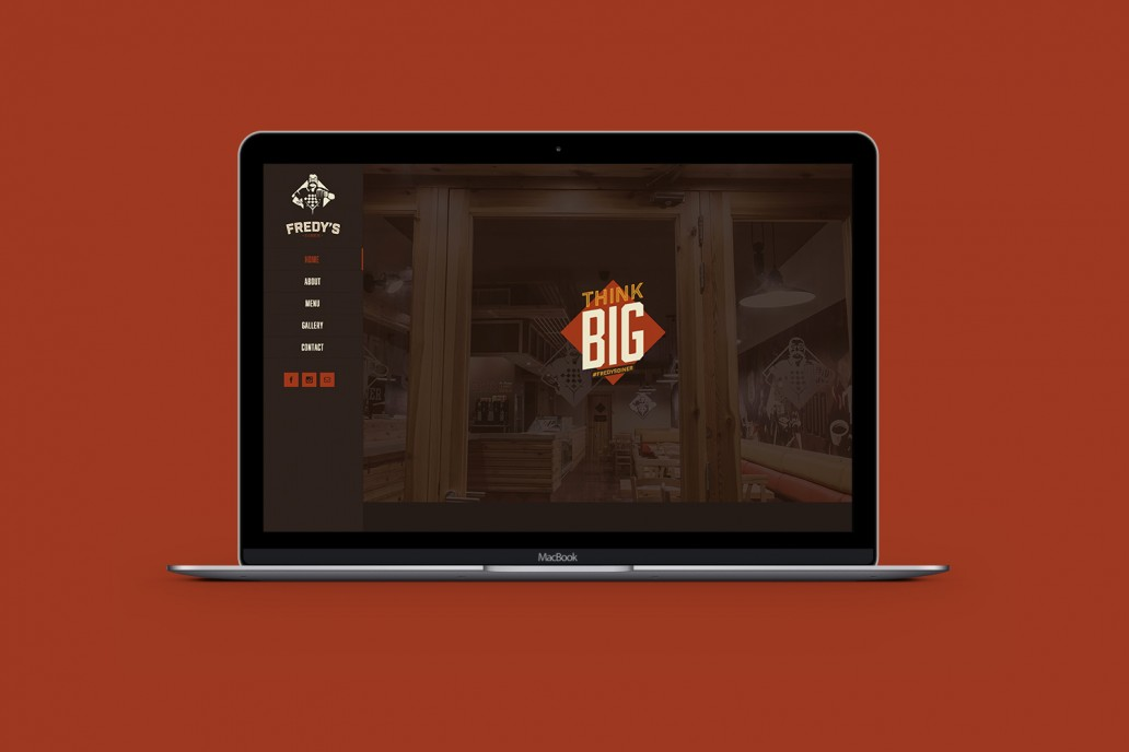 Website design for Fredys Diner Qormi Malta