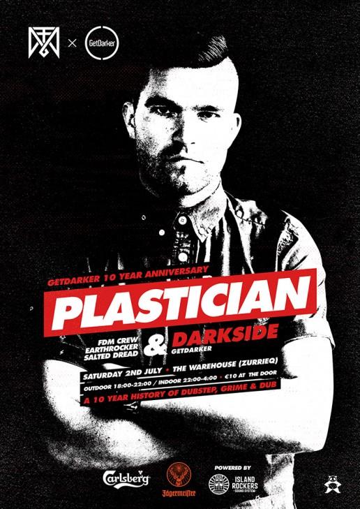 FDM crew featuring Plastician poster design