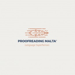 Logo design for Proofreading Malta