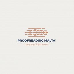 Logo design for Proofreading Malta