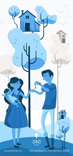 Illustration for Zanzi Homes