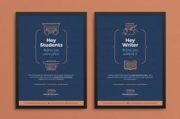 Advert design for Proofreading Malta