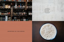 The Craft Beer Company mood photos as a divider