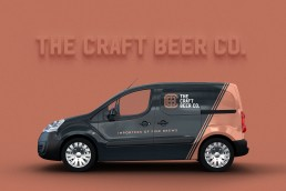 The Craft Beer Company vehicle livery