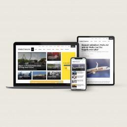 Website design for Times of Malta
