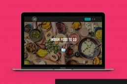 TukTuk Malta website design on macbook pro