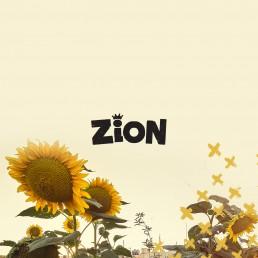 Logo design for Zion reggae bar Malta
