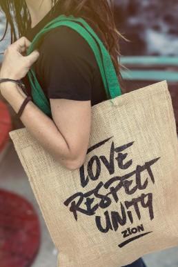 Merchandise design for Zion reggae bar Malta