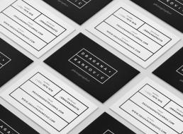 Dragana Rankovic business cards layout