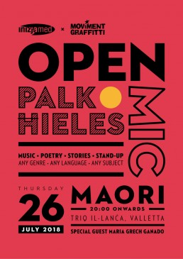 Poster design for Open Mic event by Inizjamed