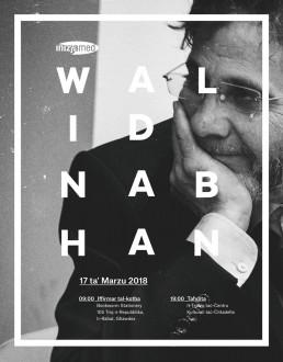Poster Design for Walid Nabhan talk by Inizjamed Malta