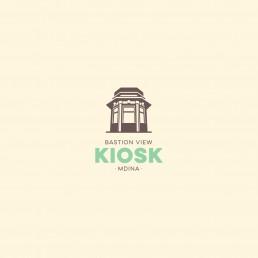 Logo design for Bastion View Kiosk Malta