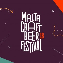 Logo design for Malta Craft Beer Festival 2018