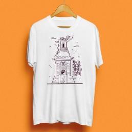 T-shirt design for Malta Craft Beer Festival 2019