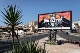 Billboard design for Rockestra 2019