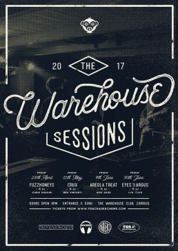 Poster design for Warehouse Sessions